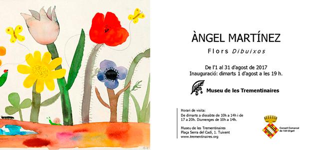 Invitació Àngel Martínez. Museu de les Trementinaires