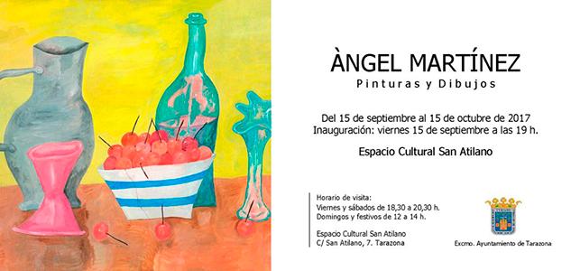 Exposició. Del 15 de setembre al 15 d'octubre de 2017. Espacio Cultural San Atilano, Tarazona