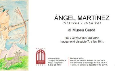 Exposició. Del 7 al 29 d'abril del 2018. Museu Cerdà, Puigcerdà